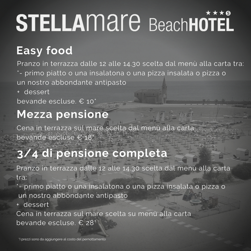 Stellamare Beach Hotel Caorle Official Site Frontemare